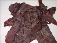 Beef jerky - nutritional information