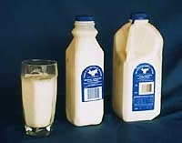 Goat milk nutritional information